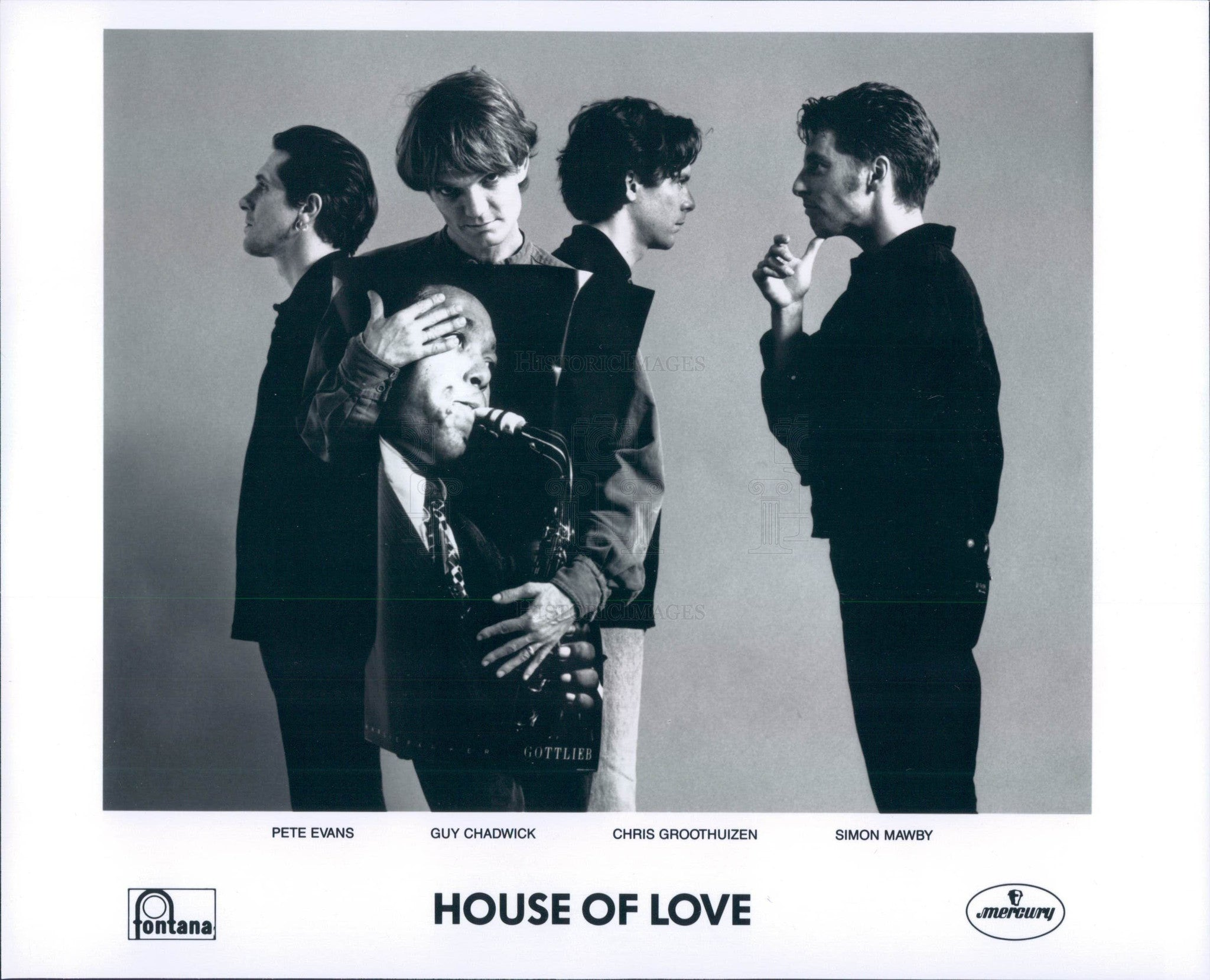 1993 English Rock Band House of Love Press Photo - Historic Images