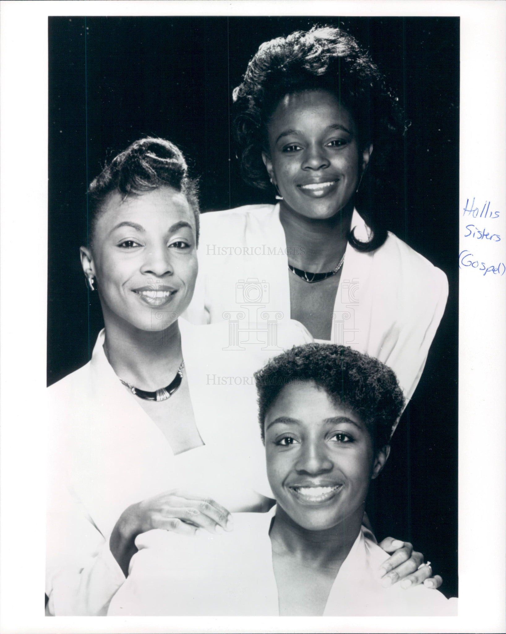 1990 Gospel Singers the Hollis Sisters Press Photo - Historic Images
