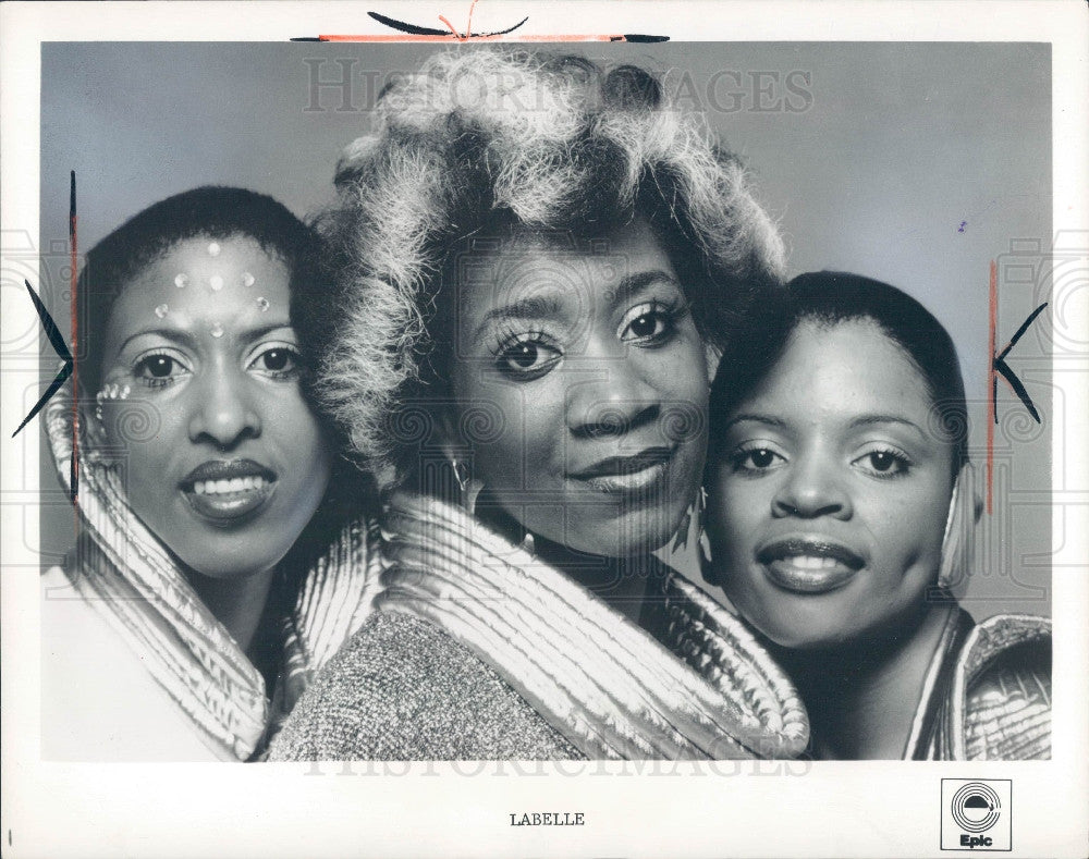 1975 Singing Group LaBelle Press Photo - Historic Images