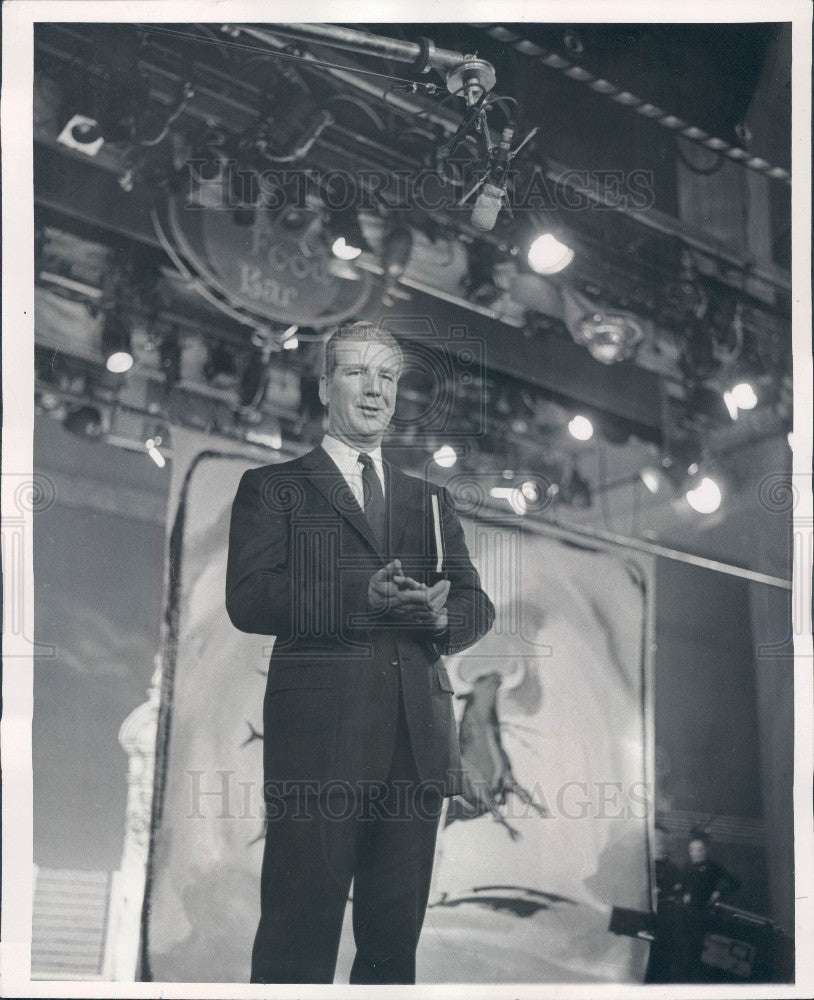 1959 TV Announcer Durward Kirby Press Photo - Historic Images