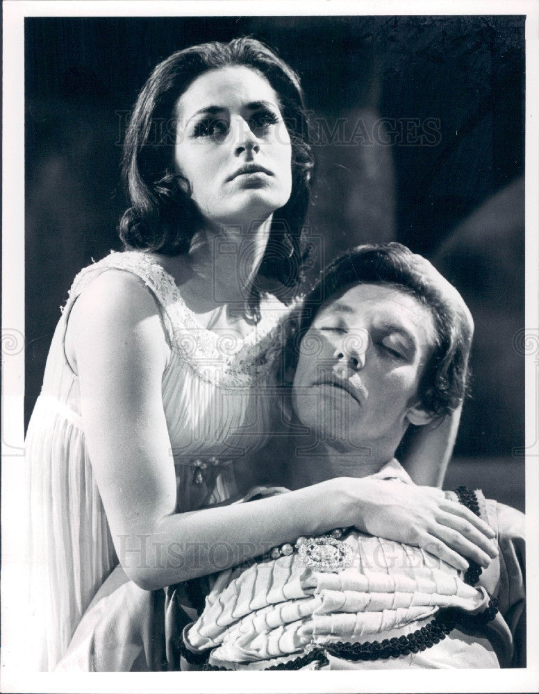 1965 Actress Veronica Tennant Press Photo - Historic Images