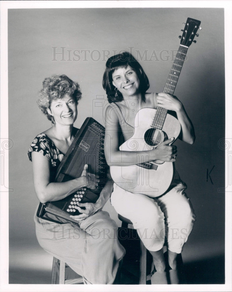1992 Children's Performers The Song Sisters Press Photo - Historic Images
