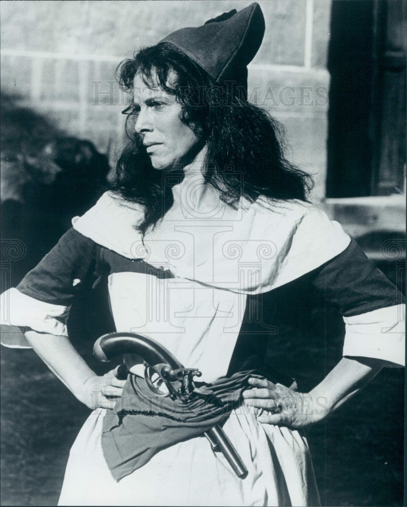 1980 Actress Billie Whitelaw Press Photo - Historic Images