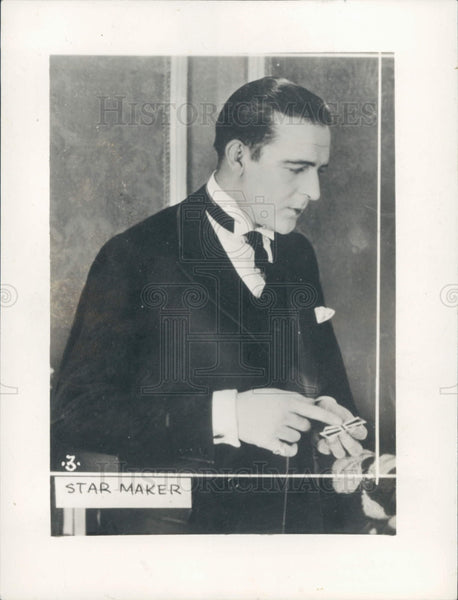1934 Actor William Wallace Reid Press Photo - Historic Images