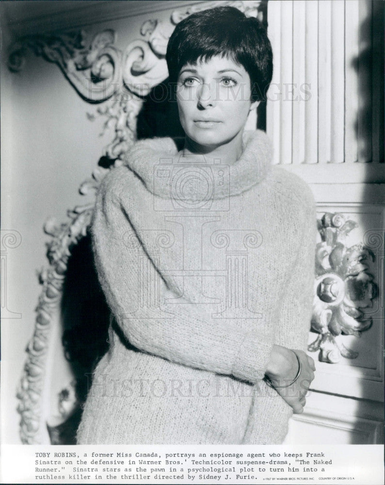 1967 Actress Toby Robins Press Photo - Historic Images
