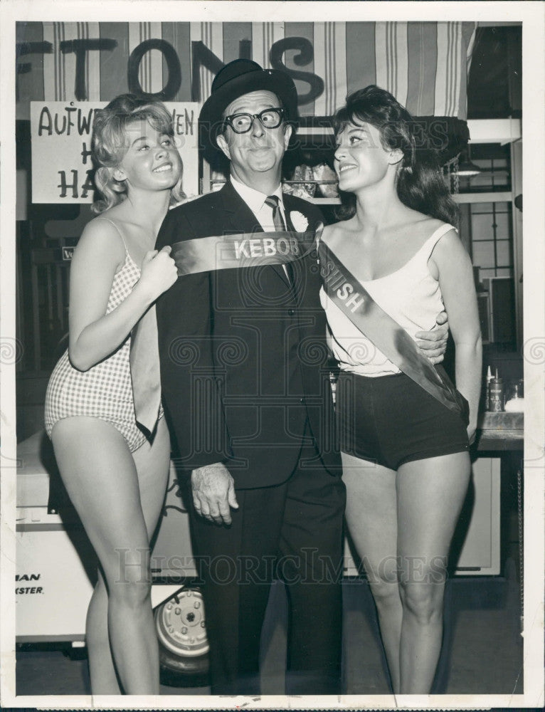 1963 Comedian Phil Silvers Press Photo - Historic Images