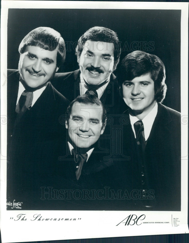 1975 Musical Group The Showcasemen Press Photo - Historic Images