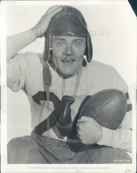 1934 Actor Charlie Ruggles Press Photo - Historic Images