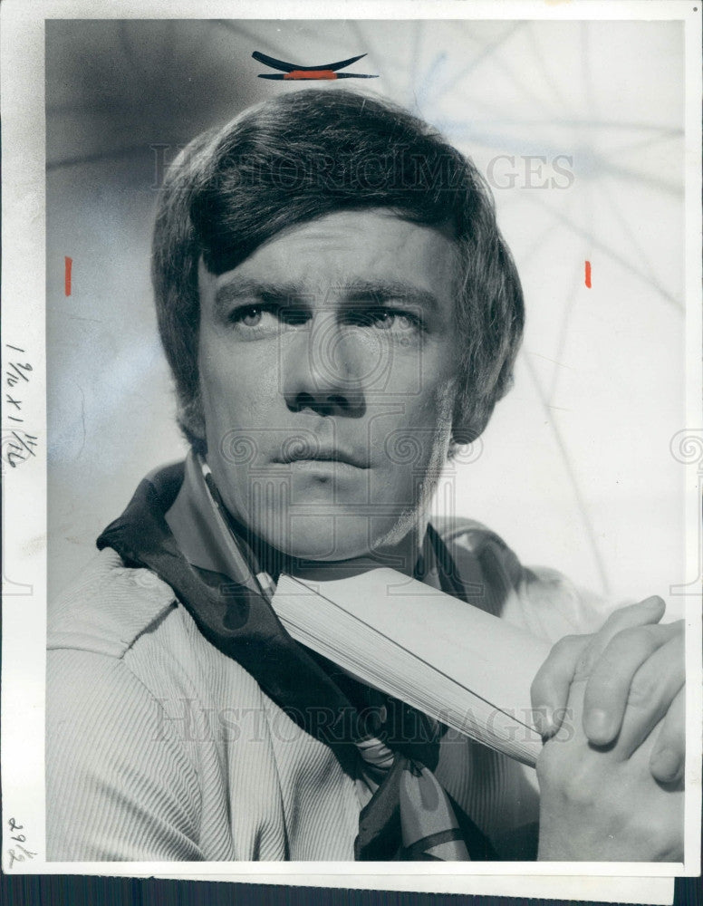 1969 Actor Peter Haskell Press Photo - Historic Images