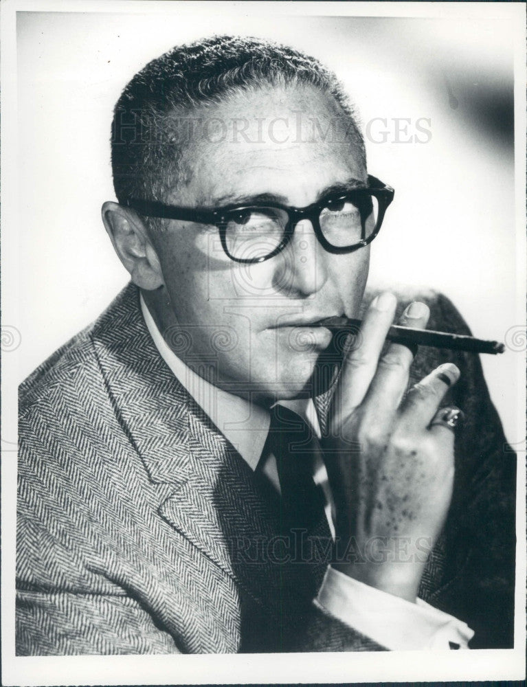 1967 Actor Sheldon Leonard Press Photo - Historic Images