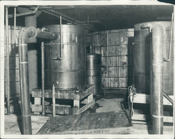 1931 Detroit Brewery Leonard Warehouse Press Photo - Historic Images