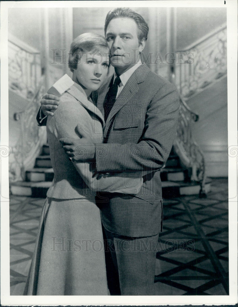 1980 Christopher Plummer Julie Andrews Press Photo - Historic Images