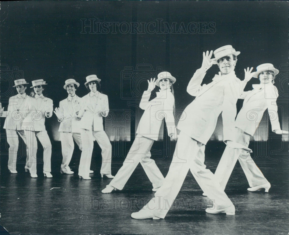 1981 Dancin' the Musical Press Photo - Historic Images