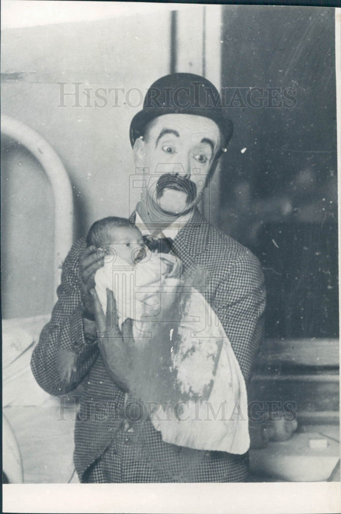 1962 Comedian Harry Snub Pollard Press Photo - Historic Images