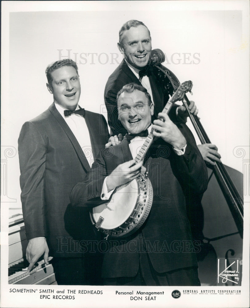 1961 Somethin' Smith and the Redheads Press Photo - Historic Images