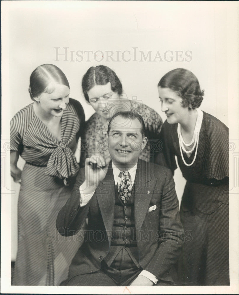 1932 Singer Jack Smith Press Photo - Historic Images