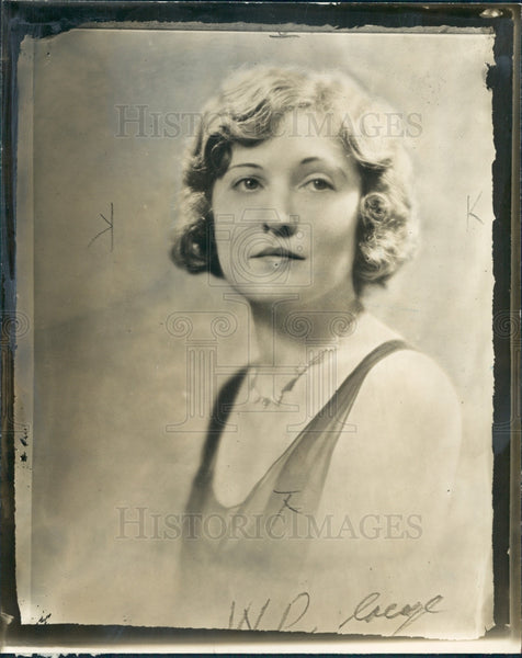 1930 Actress Lee Smith Press Photo - Historic Images