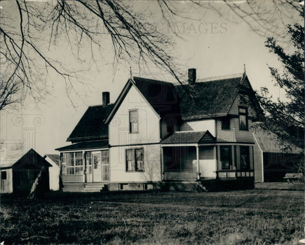 1922 Ney J. Ford Residence Dearborn MI Press Photo - Historic Images