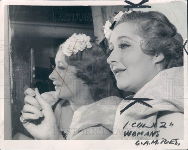1938 Actress Mildred Harris Press Photo - Historic Images