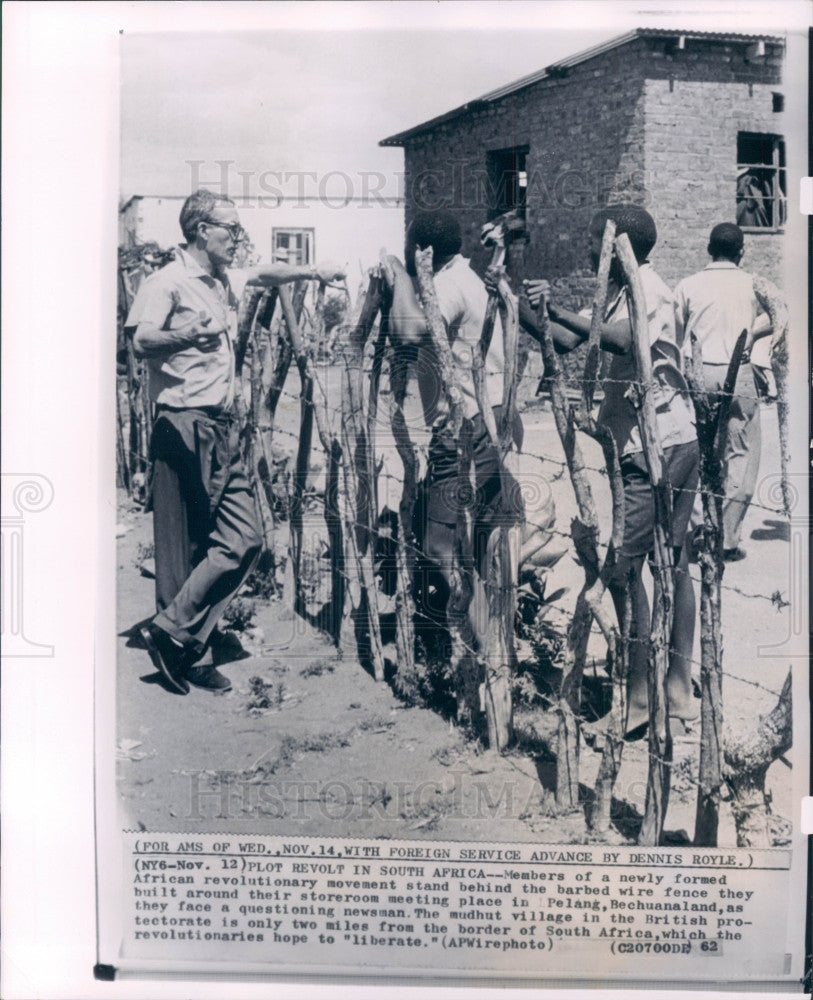 1962 African Revolutionary Movement Press Photo - Historic Images