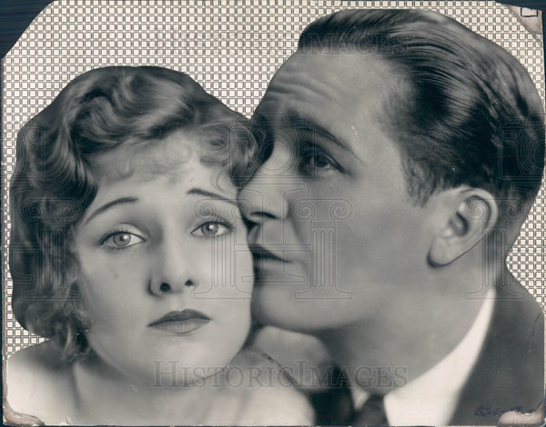 1929 Actors Lola Lane & Paul Page Press Photo - Historic Images