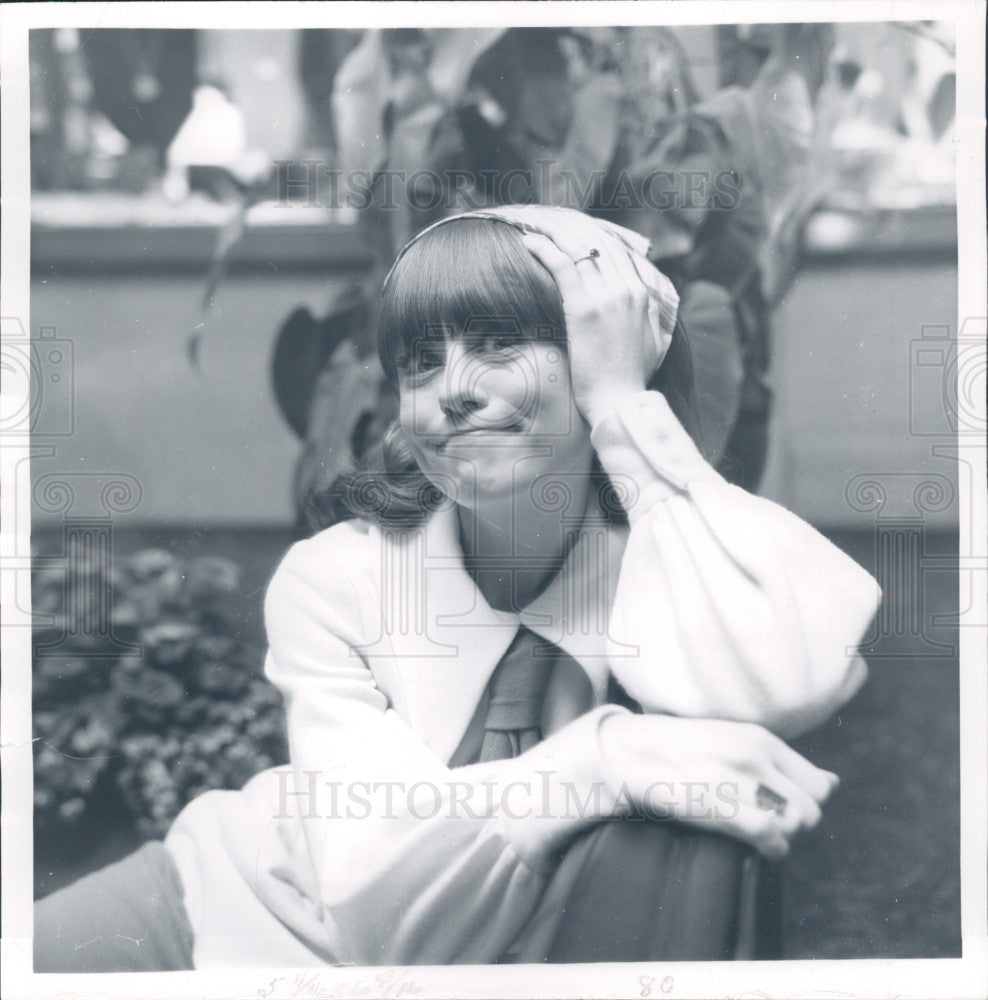 1969 Actress Susie Teague Press Photo - Historic Images