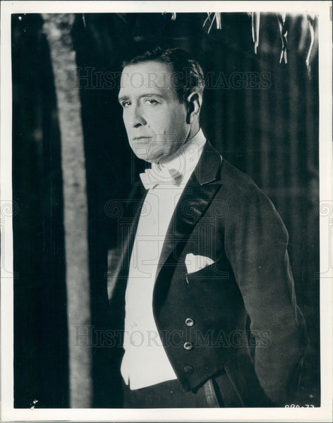 1934 Actor Conway Tearle Press Photo - Historic Images