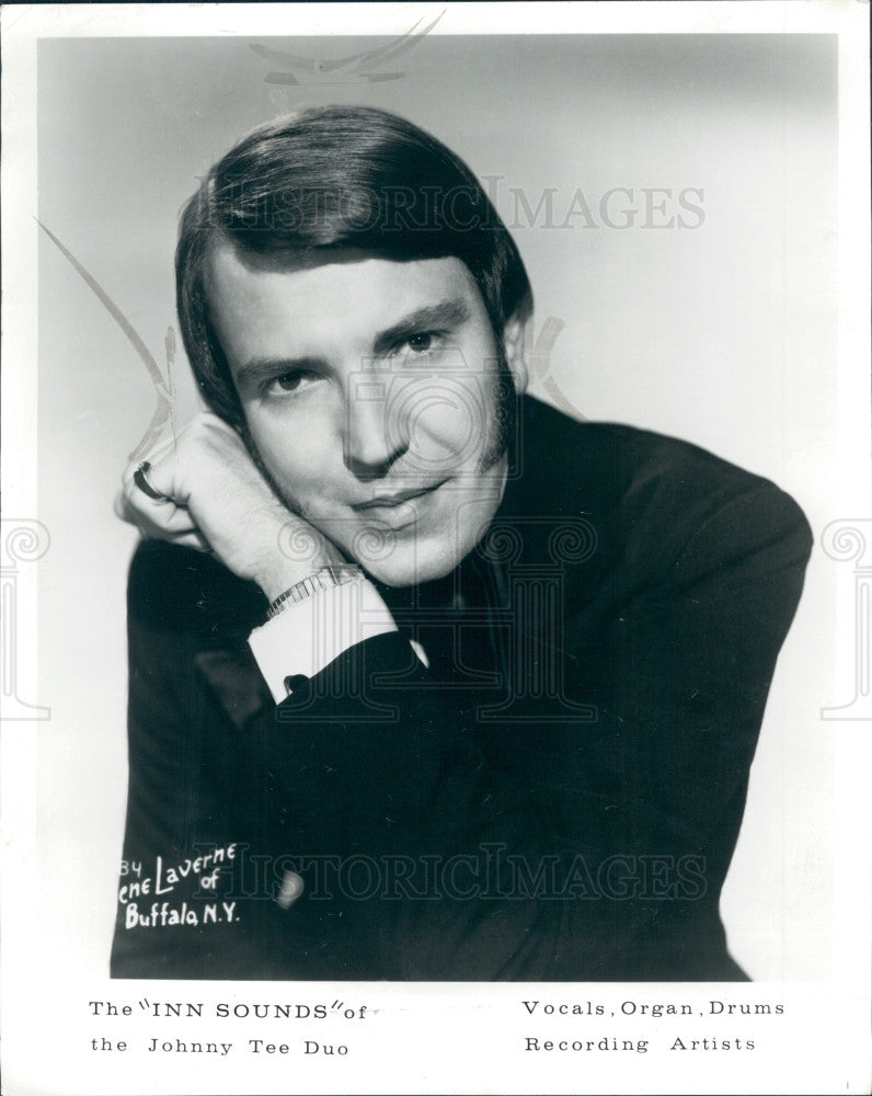1971 Singer Johnny Tee Press Photo - Historic Images