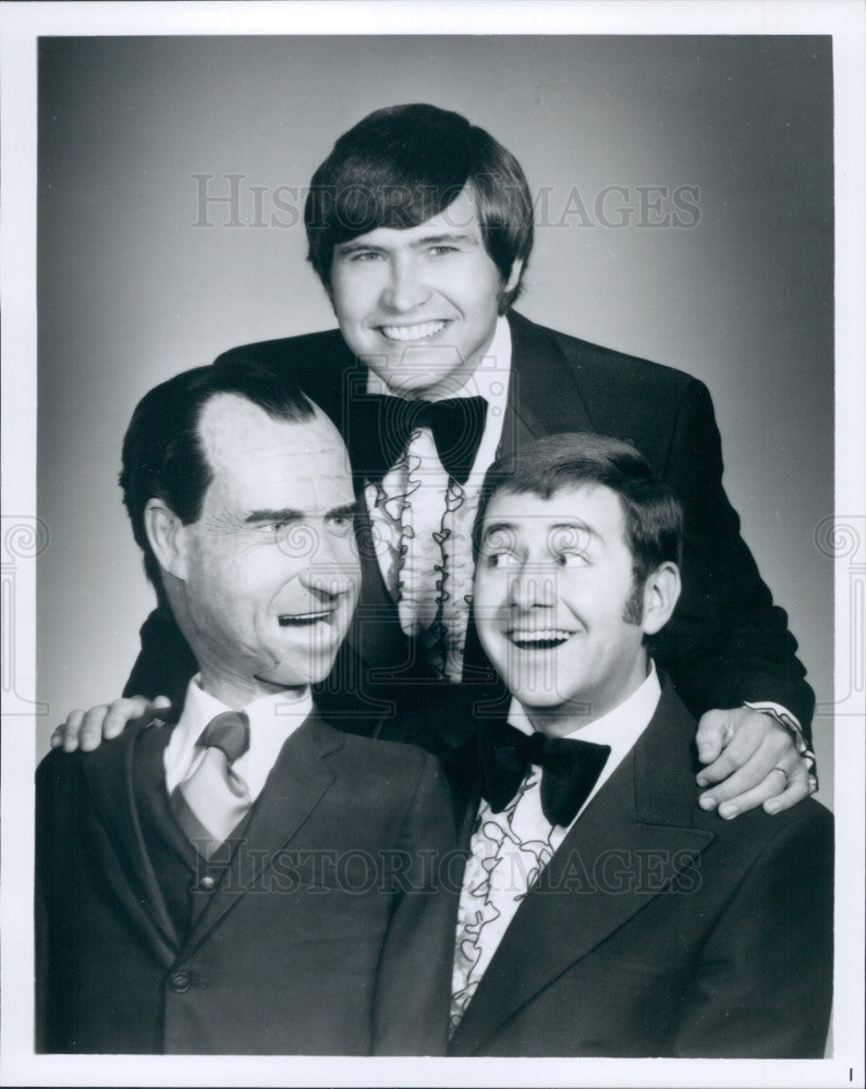 Undated Comedians Jim Teeter Jim McDonald Press Photo - Historic Images