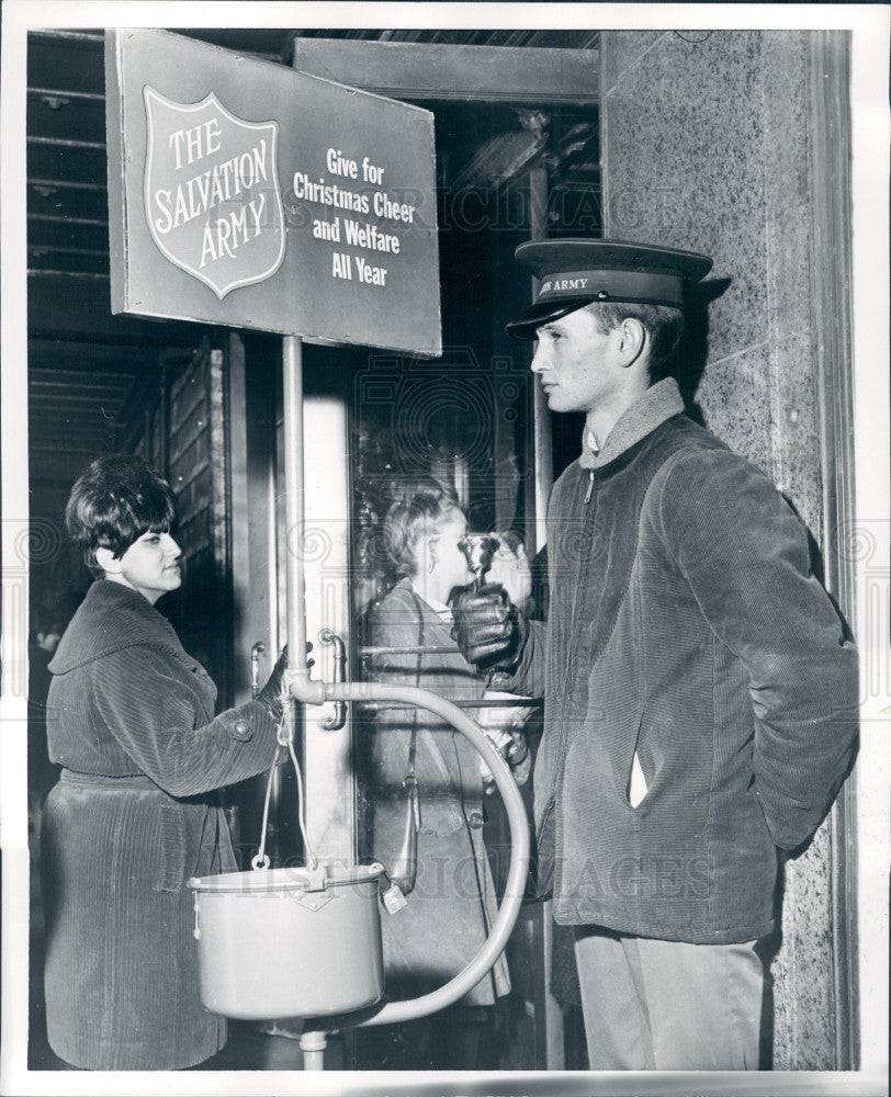 1965 Detroit Salvation Army David Smith Press Photo - Historic Images
