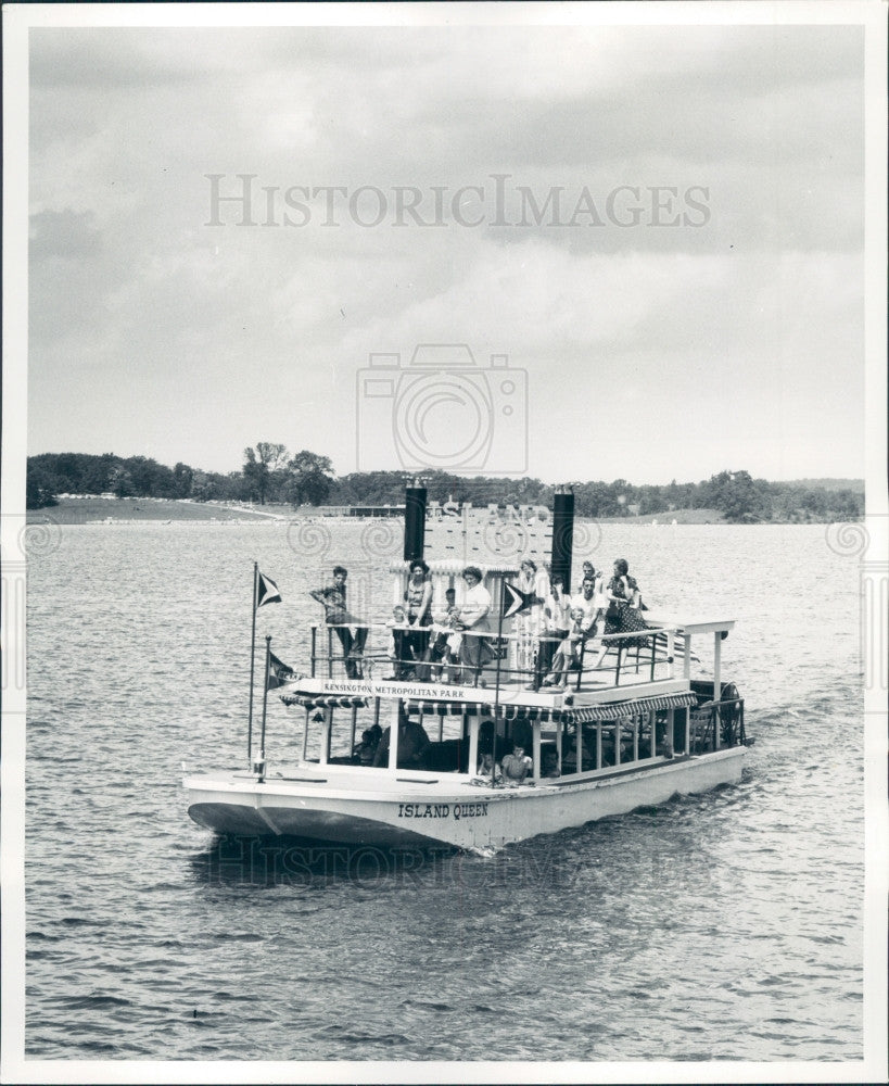 1959 Michigan Deshews Day Kensington Park Press Photo - Historic Images