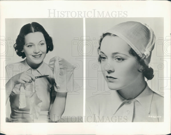 1932 Actress Maureen O'Sullivan Press Photo - Historic Images