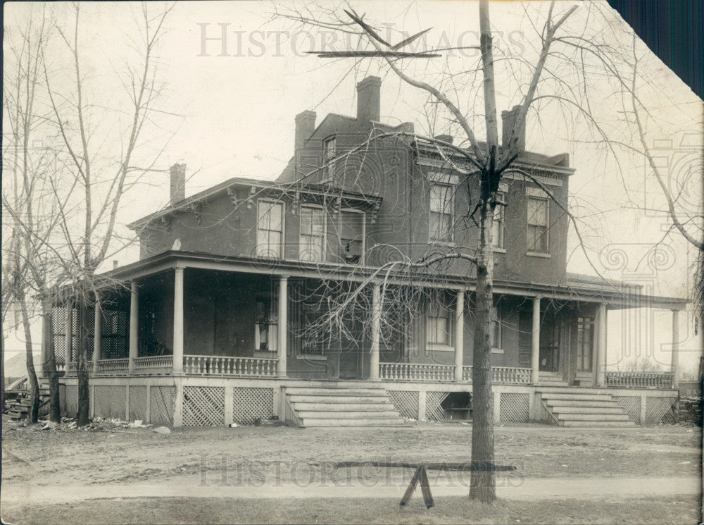 pre-1919 Detroit Homestead Road House Press Photo - Historic Images