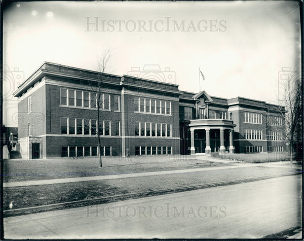 1935 Detroit Ferris School Press Photo - Historic Images
