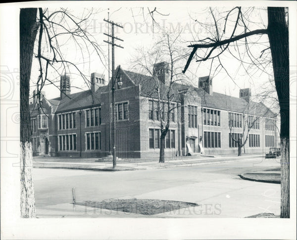 1935 Detroit Ferry School Press Photo - Historic Images