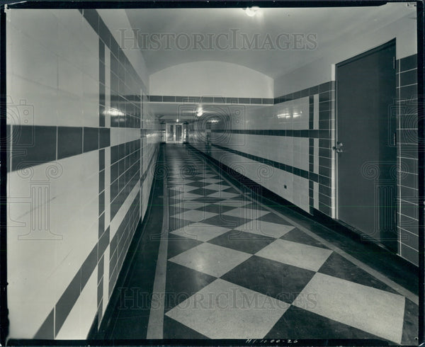 1936 Detroit News Radio Subway Building Press Photo - Historic Images