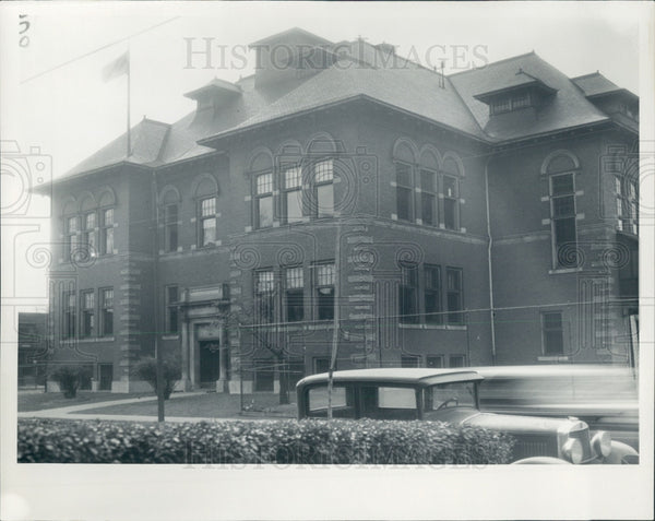 1935 Detroit McKinley School Press Photo - Historic Images