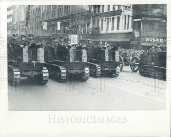 1935 Detroit MI Armistice Day Parade Press Photo - Historic Images