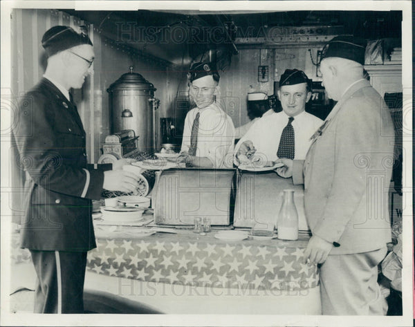 1932 Detroit MI American Legion Food Car Press Photo - Historic Images