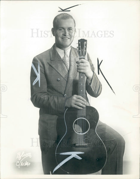 1938 Actor/Comedian Rufe Davis Press Photo - Historic Images