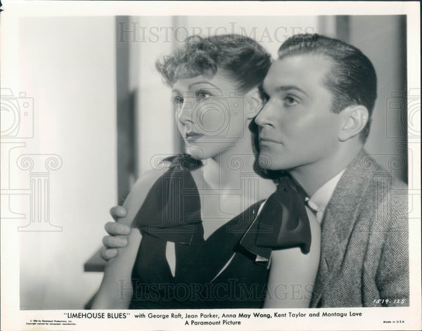 1934 Actors Jean Parker Kent Taylor Press Photo - Historic Images