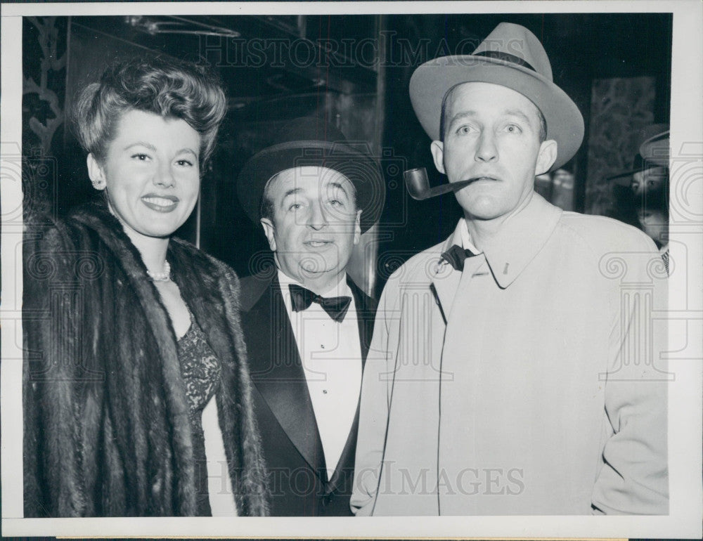 1946 Actor Singer Bing Crosby Press Photo - Historic Images