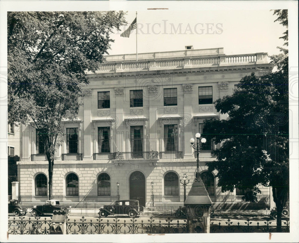 1941 Canada American Legation Bldg Press Photo - Historic Images