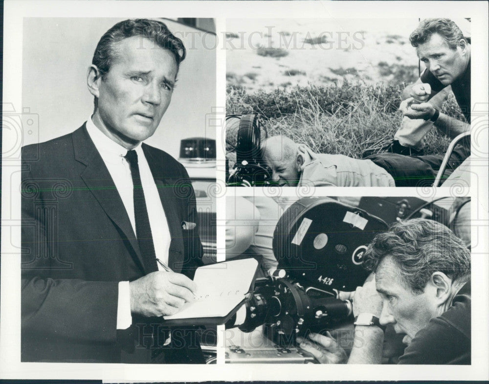 1967 Actor Howard Duff Press Photo - Historic Images
