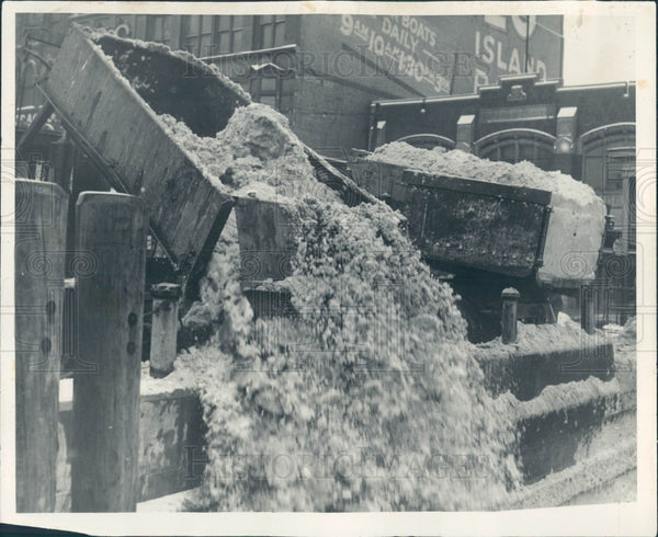 1932 Detroit Snow Removal Truck Press Photo - Historic Images
