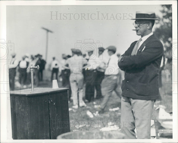 1923 Detroit News Publisher William Scripps Press Photo - Historic Images