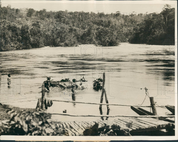 1927 Brazil Rio Roosevelt River Press Photo - Historic Images