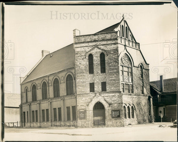1931 Detroit Immanuel M.E. Church Press Photo - Historic Images