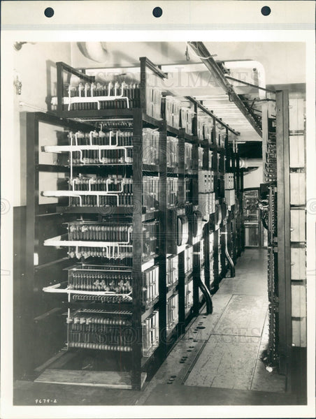 1935 Detroit News Press Drives Wiring Press Photo - Historic Images