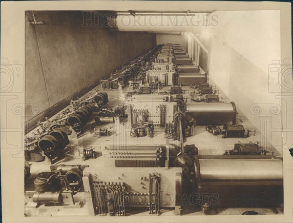 1931 Detroit News Press Control Room Press Photo - Historic Images